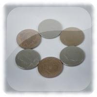 Truco en el bar revelado, círculo mágico con monedas