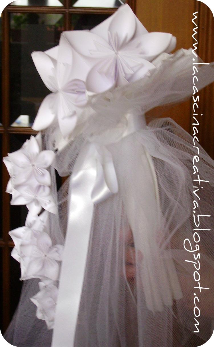 spesso la cascina creativa: Bouquet di carta e tutorial kusudama AI26