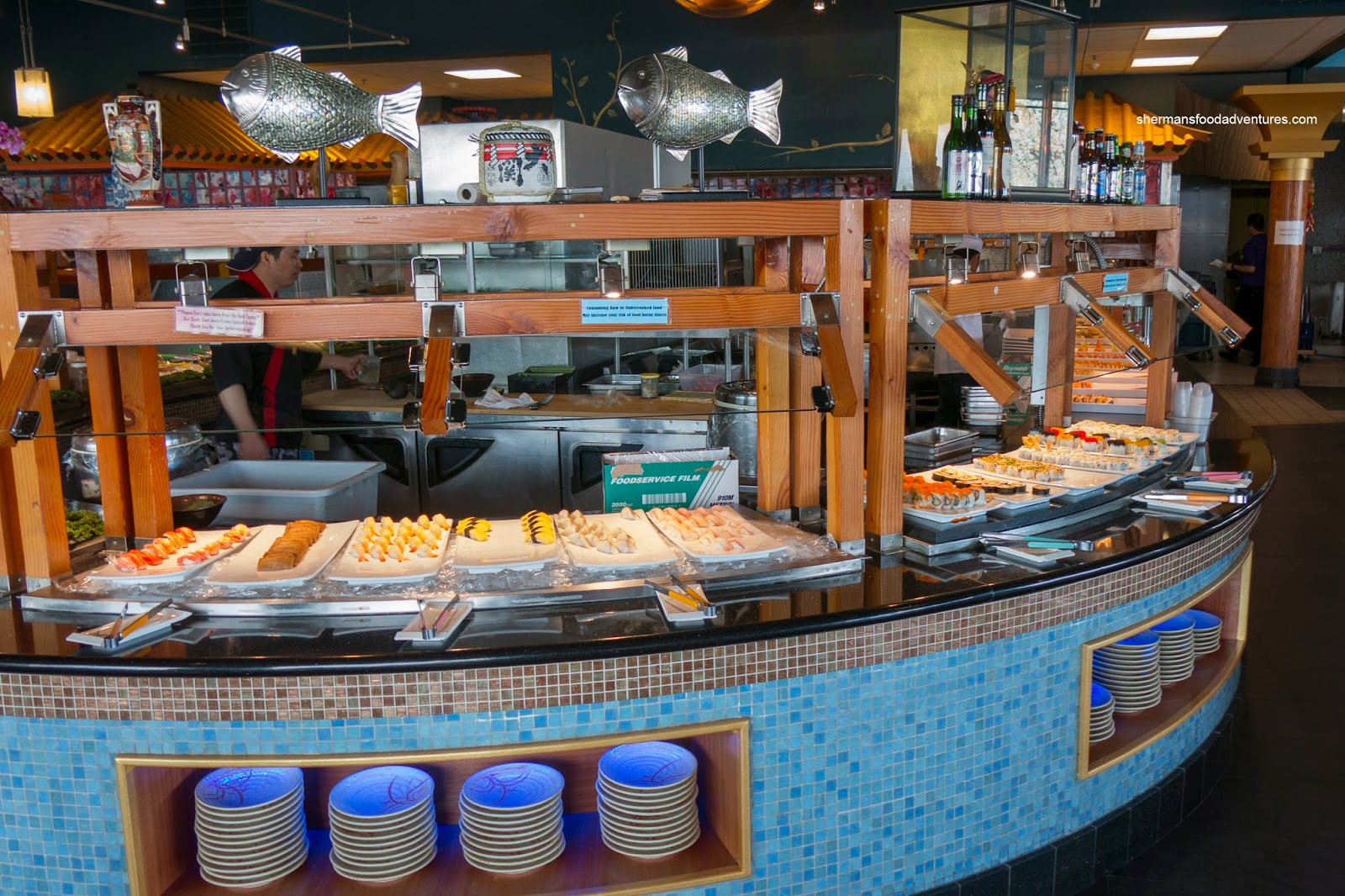 Sherman 39 s food adventures mika buffet - Mika japanese cuisine bar ...