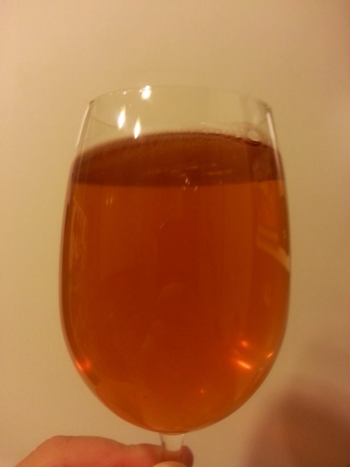 St. Peter's Summer Ale. В бокале.