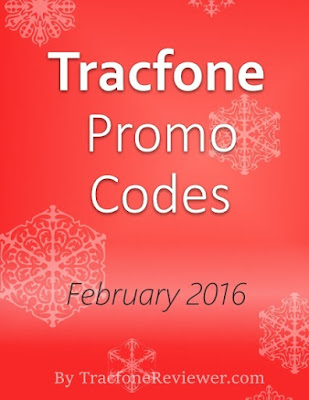 Tracfone Promo Codes For February 2016