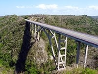 HIGHEST BRIDGE IN CUBA