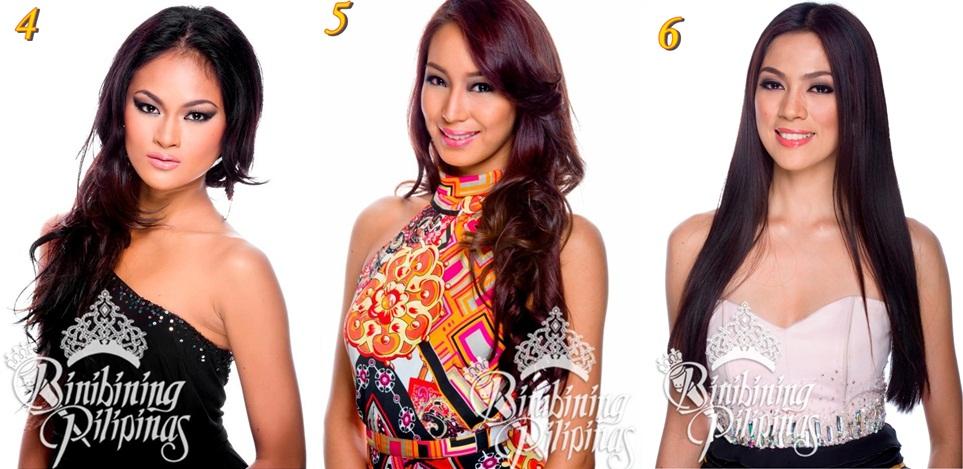Binibining Pilipinas 2013 Favorites