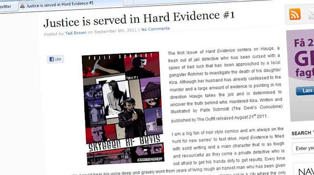 HARD EVIDENCE REVIEWED