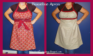 Emmeline Apron, holiday version collage