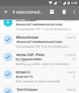 Como borrar multiples correos desde Nueva App Outlook Mail