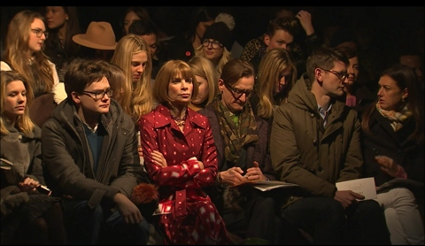 Anna Wintour Front Row at Prabal Gurung's Fall 2013 Collection