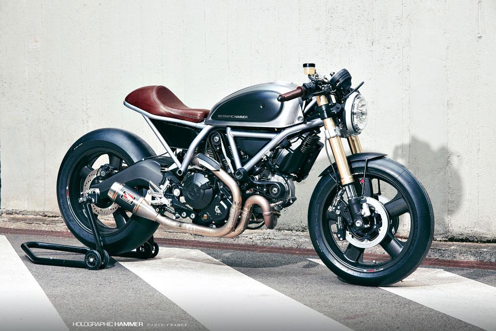 Holographic Hammer Ducati Scrambler Cafe Racer Return Of