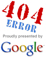 google error 404