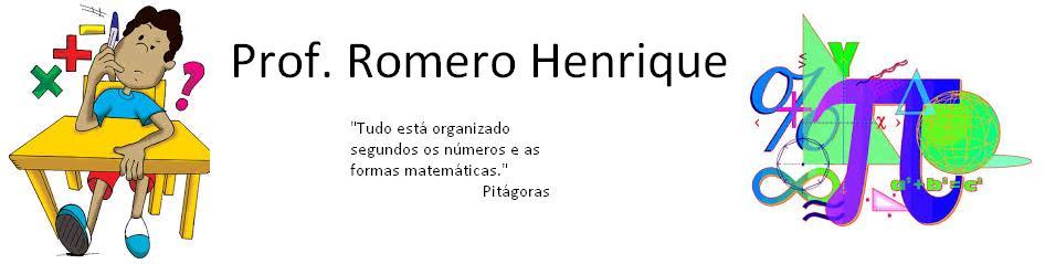 Prof. Romero Henrique