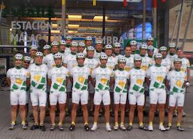Este sábado nos visita una representación del Club Ciclista Ferroviario de Málaga