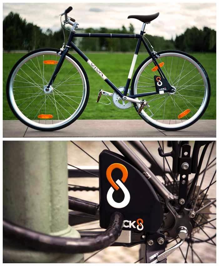 Велосипедный замок Lock8
