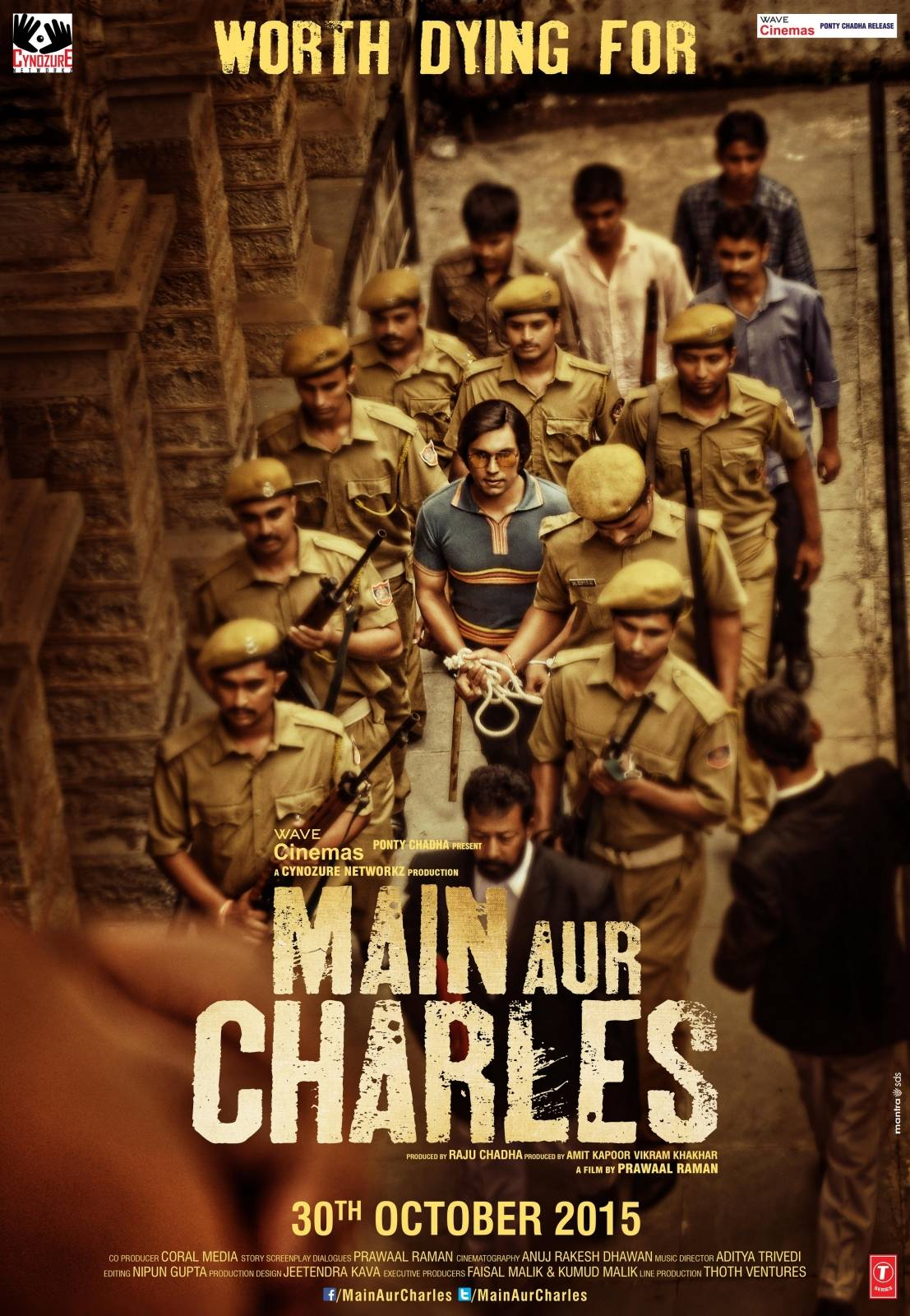 full cast and crew of bollywood movie Main aur Charles 2015 wiki, Randeep Hooda, Adil Hussain, Richa Chadda story, release date, Actress name poster, trailer, Photos, Wallapper