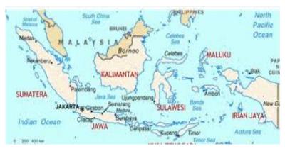 Peta perkembangan sistem administrasi wilayah Indonesia www.matapelajaransdn.blogspot.com