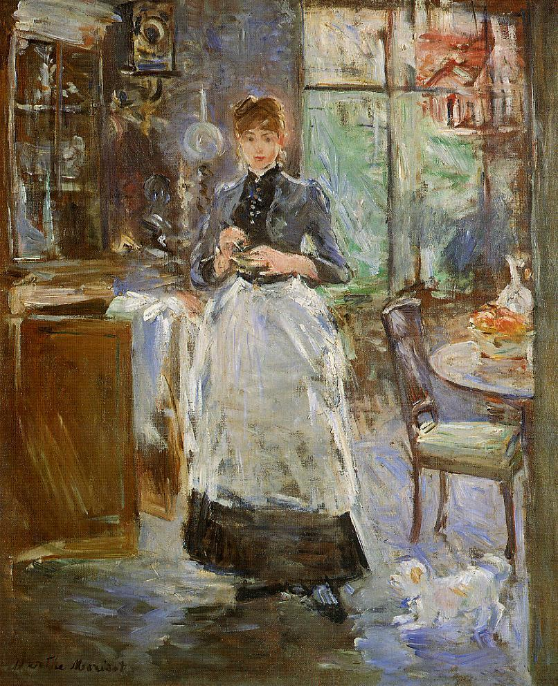 Berthe morisot les grandes dames de l 39 impressionnisme for Dining room paintings