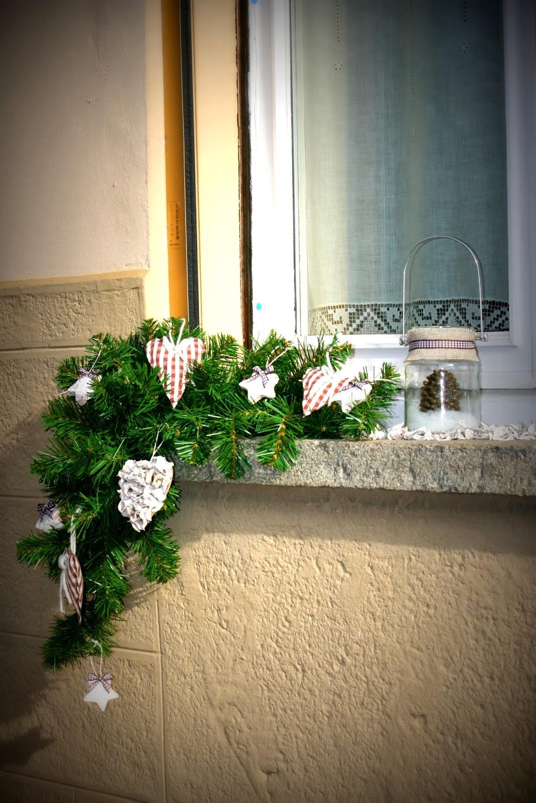 Robin 39 s cake decorazioni natalizie per la casa - Decorazioni per finestre natalizie ...