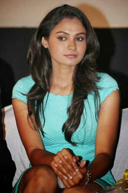 Andrea Jeremiah in Cute Dress