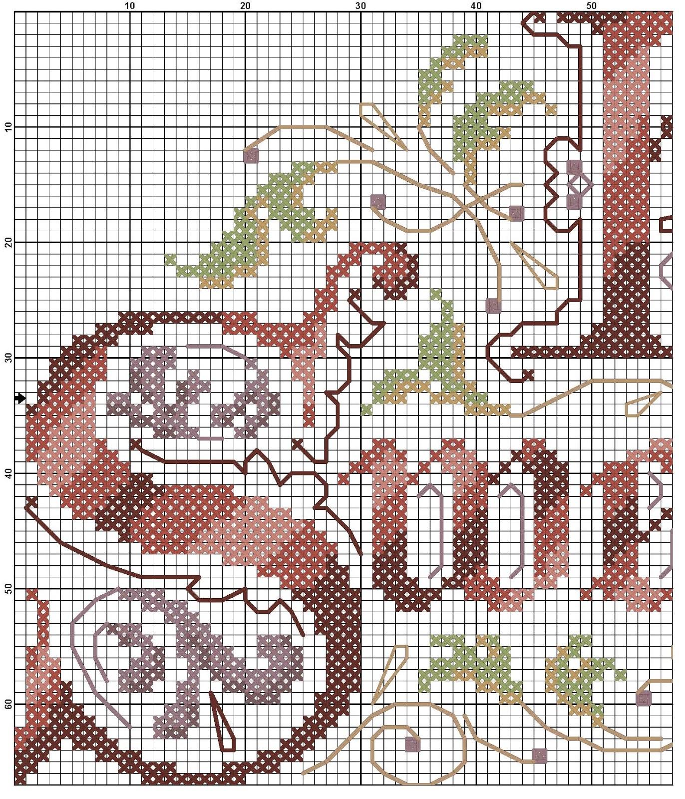 Надписи схемы вышивки 94