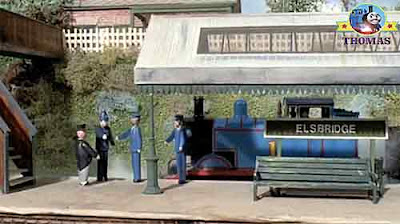 Island of Sodor North Western Railway Tram Toby and Thomas the train friends trouble on the tracks