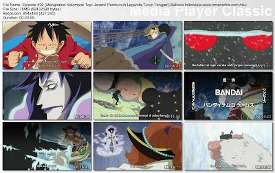 Download Film One Piece Episode 592 (Menghabisi Kelompok Topi Jerami! Pembunuh Legenda Turun Tangan!) Bahasa Indonesia