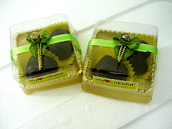 Doorgift 2 pcs pralin