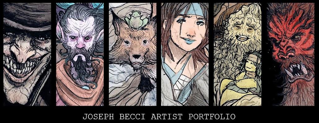 Joe Becci Artist Portfolio