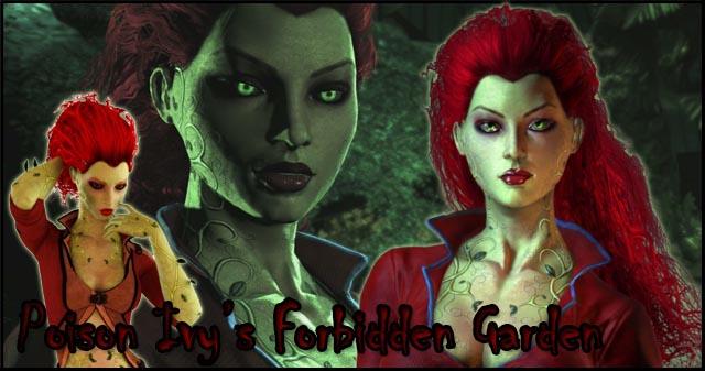 Poison Ivy's Forbidden Garden