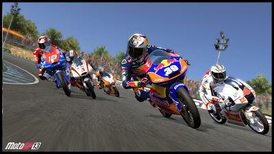 Pantallazo del juego MotoGP 13