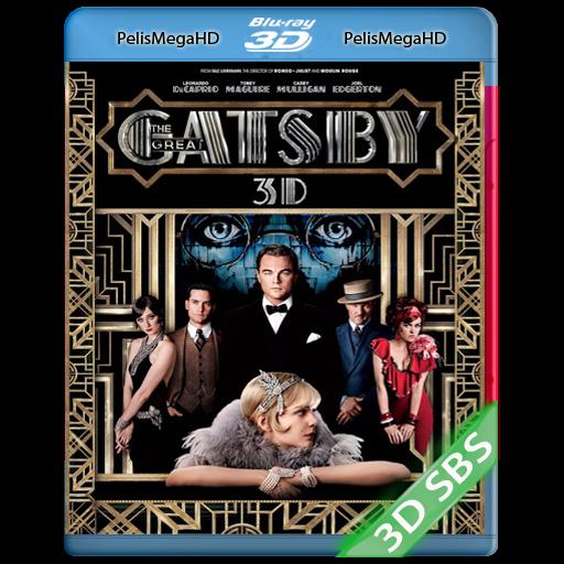EL GRAN GATSBY (2013) 3D SBS 1080P HD MKV ESPAÑOL LATINO