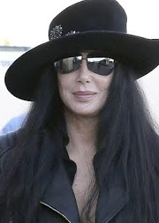 Cher at LAX Airport, December 2012