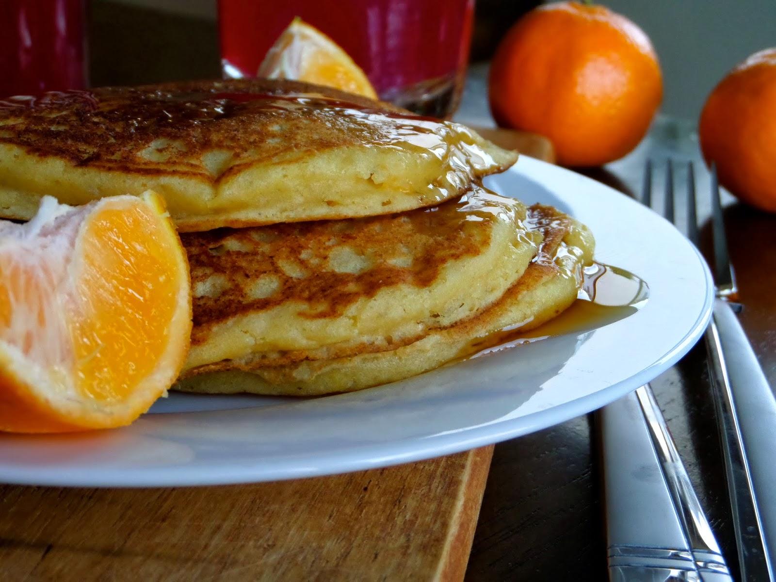 Foodie: in Minnesota: Orange Ricotta Pancakes
