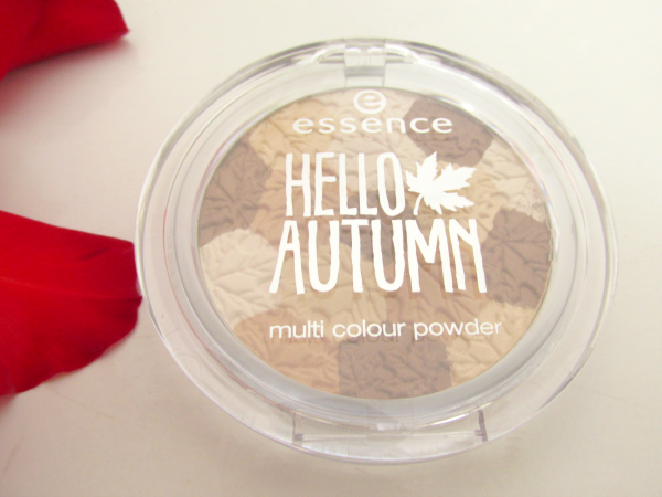essence Hello Autumn Multi Colour Powder 01 Autumn & the City  review