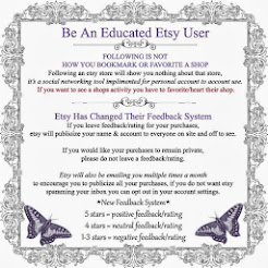 Be An Educated Etsy Buyer