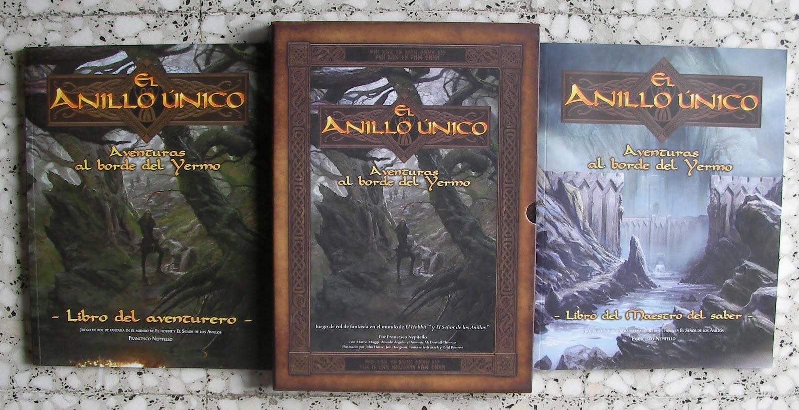Silvermoon Studio RPG: El Anillo Único - Aventuras al borde del Yermo