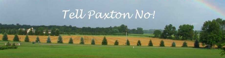Tell Paxton No!