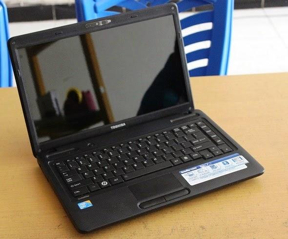 harga laptop bekas toshiba C600