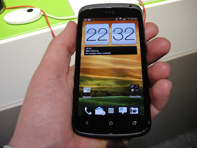 htc one s hands on display