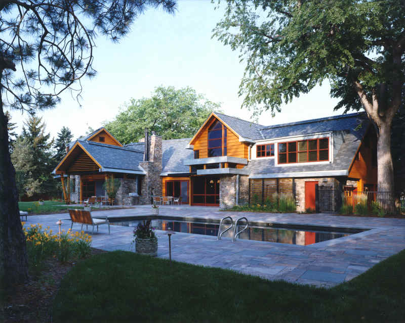 Modern country homes modern home designs for Contemporary country house plans