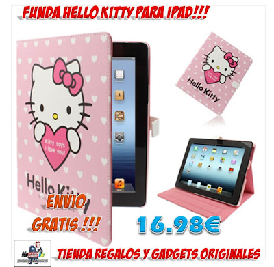 FUNDA IPAD HELLO KITTY