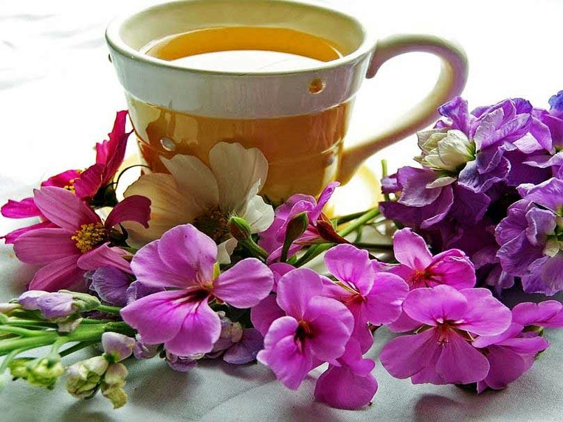 beauty-of-flowers-and-a-hot-tea