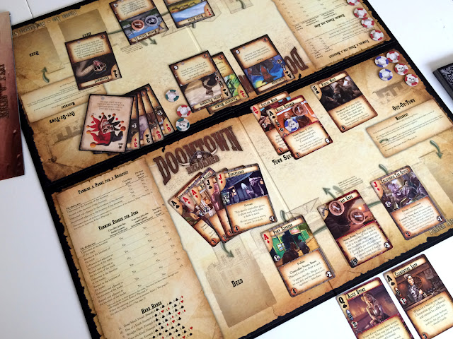 Doomtown Reloaded review play board