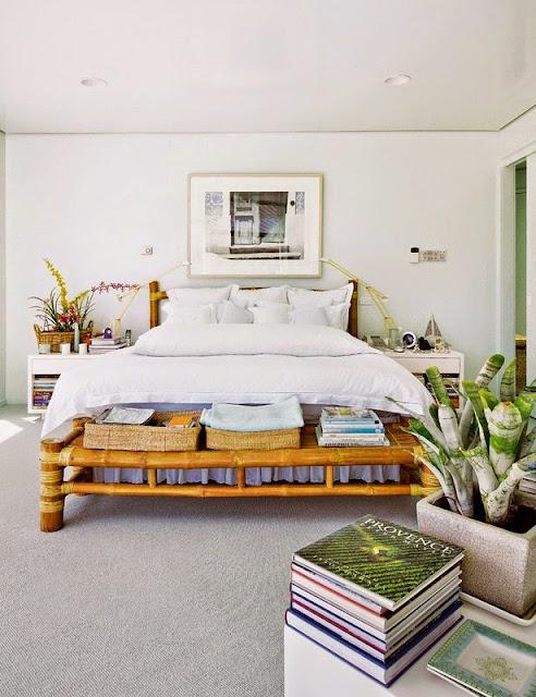 Dormitorio para casas de playa