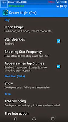 dream night pro lwp apk terbaru