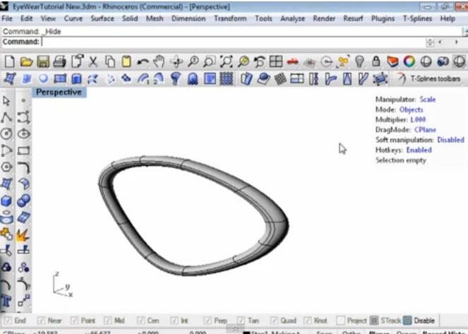 Rhino News, etc: Autodesk T-Splines v34 plug-in for