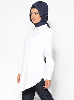Busana simpel dan casual serta modis dan islami