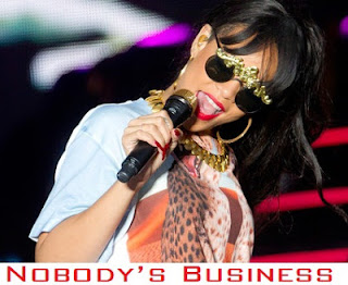 Rihanna - Nobodys Business Lyrics 2012