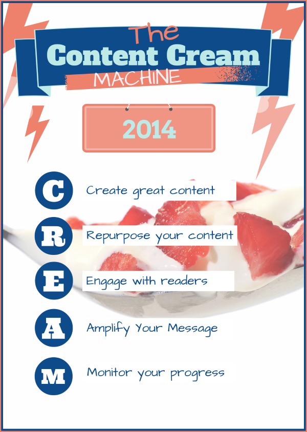 Content Cream Machine