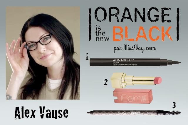 Inspiration maquillage : Orange is the New Black Alex Vause