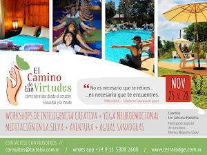 Retiros 2016. Noviembre 25 al 28.Cataratas del Iguazu