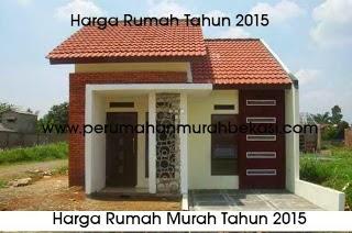 Ini Nih  Pasaran Rumah Harga Murah Tahun 2015 Di Bekasi